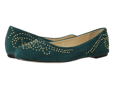 Isola - Basanti (Dark Green Chrome Free Suede) Women
