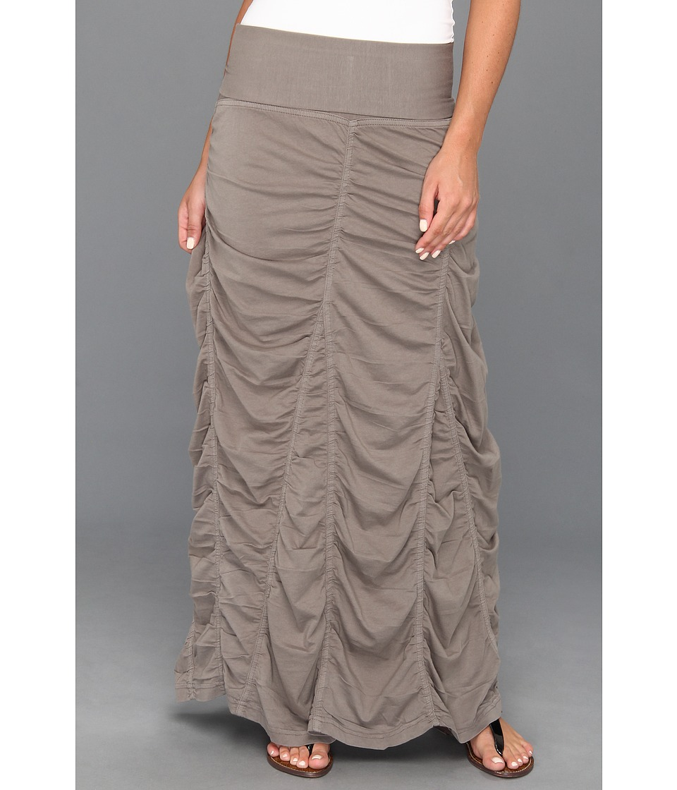 XCVI - Jersey Peasant Skirt (Moonbeam) Women's Skirt