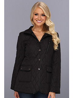 SALE! $31.99 - Save $48 on Larry Levine Quilted Coat (Black) Apparel - 60.01% OFF $80.00