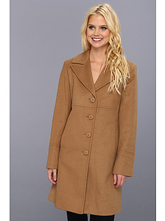 SALE! $87.25 - Save $50 on Larry Levine Wool Coat (Dark Camel) Apparel - 36.31% OFF $137.00