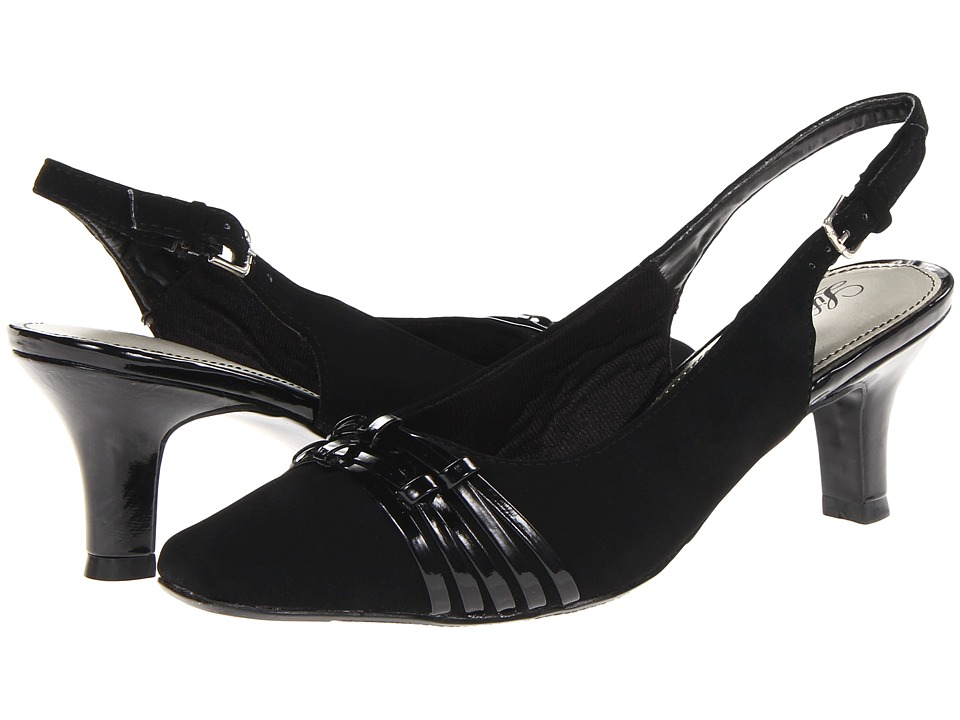 LifeStride Crysis (Black BBP/Durant) High Heels