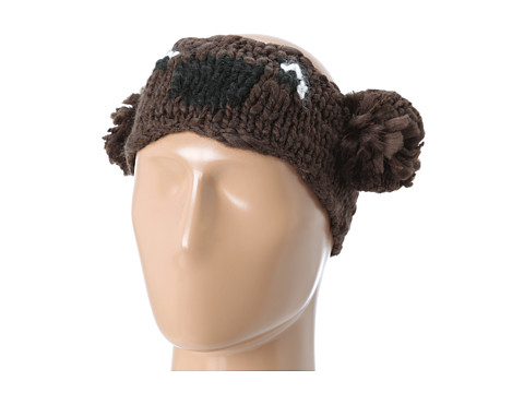 San Diego Hat Company - KNH3238 Bear Pom Headband (Brown) Traditional Hats