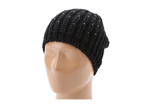 San Diego Hat Company - KNH3270 Knit Bead Beanie (Black) Beanies