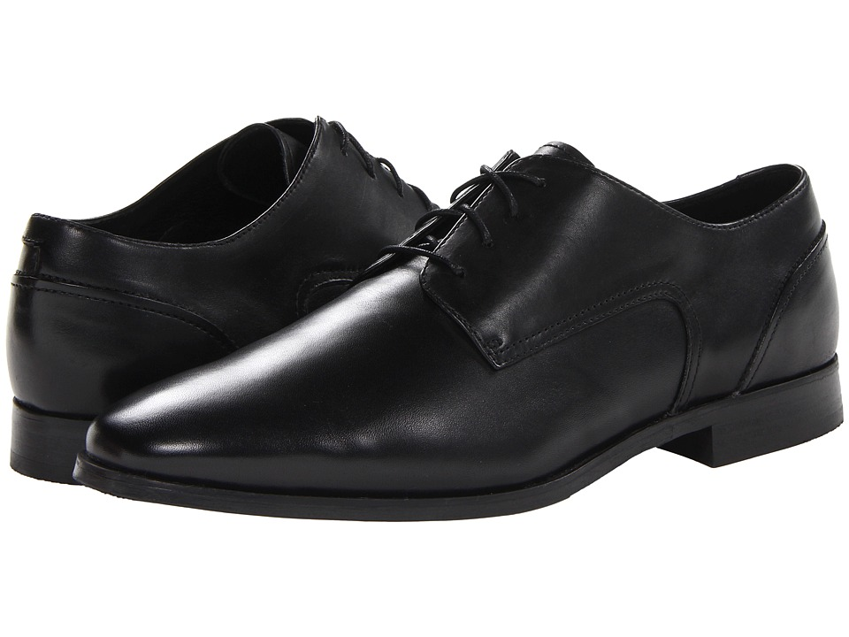 Florsheim - Jet Plain Toe Oxford (Black) Men's Plain Toe Shoes
