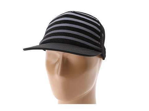 San Diego Hat Company - CTH3668 Ombre Striped Trucker Hat (Grey) Traditional Hats