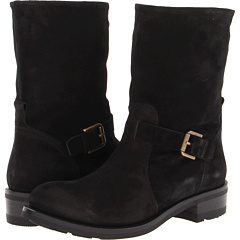 Ralph Lauren Collection Malida (Black Leather) Footwear