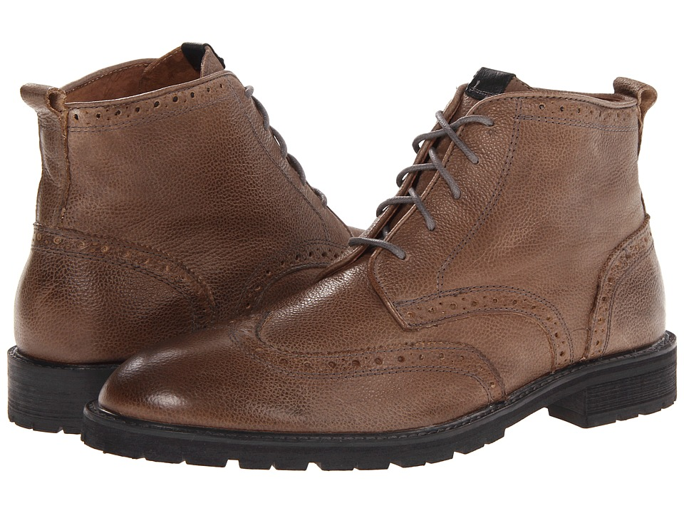 Florsheim - Gaffney Limited (Gray Milled Leather) Men's Lace-up Boots
