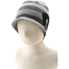 SALE! $12.99 - Save $7 on DC Kids Big Star Visor Beanie (Youth) (Heather Grey Stripe) Hats - 33.38% OFF $19.50