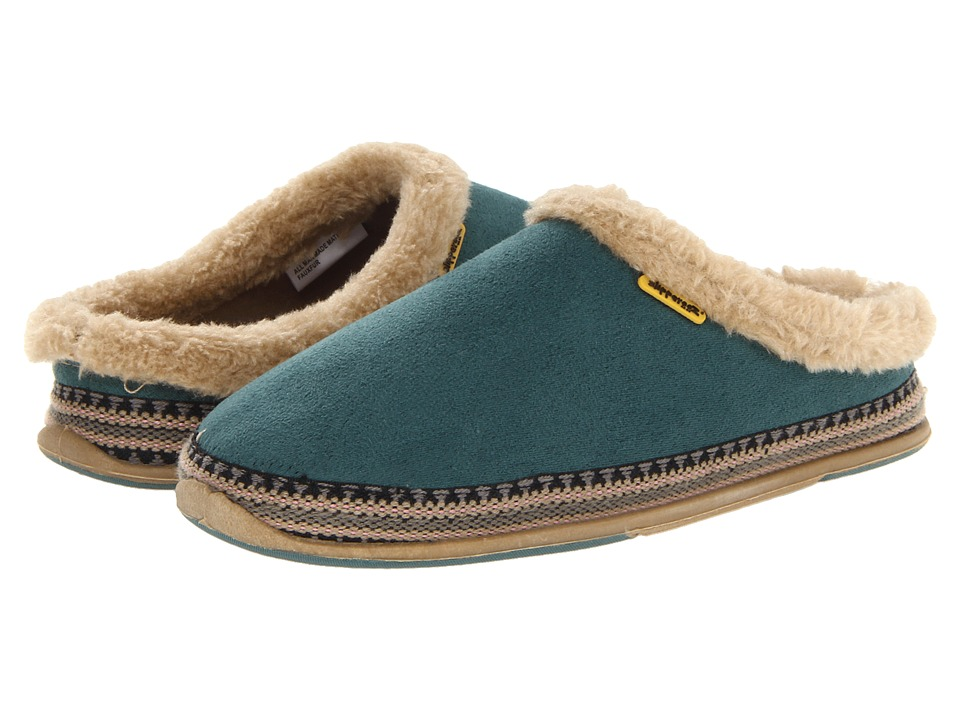 Deer Stags Whenever Womens Slippers (Blue)