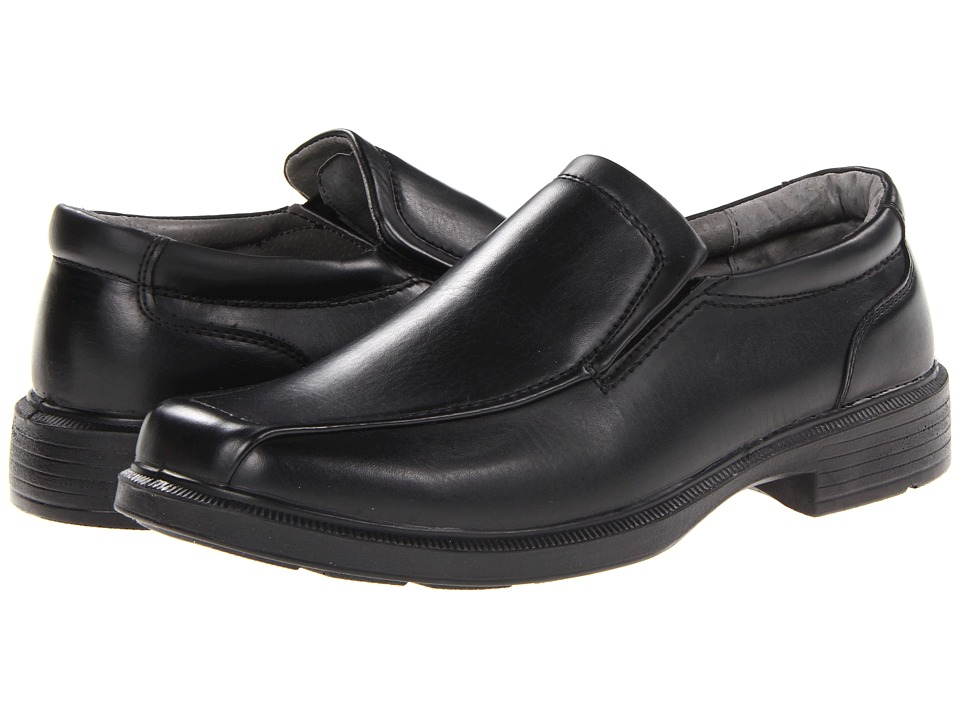Deer Stags - Greenpoint (Black) Men's Slip on Shoes