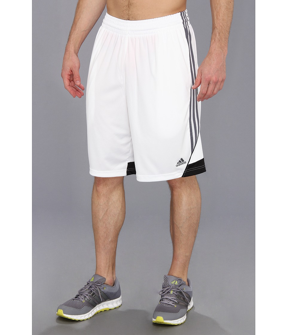 adidas - 3G Speed Short (White/Lead/Black) Men's Shorts