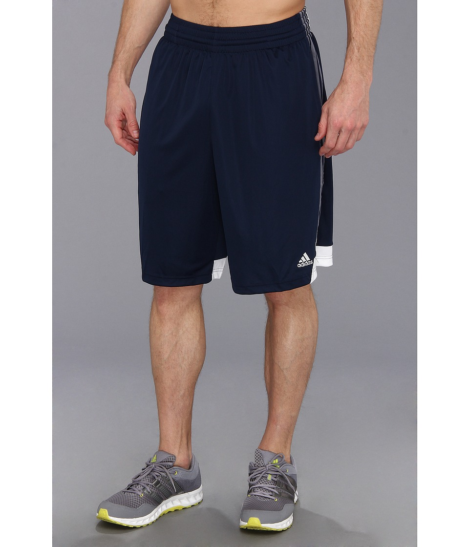 adidas - 3G Speed Short (Collegiate Navy/Lead/White) Men's Shorts