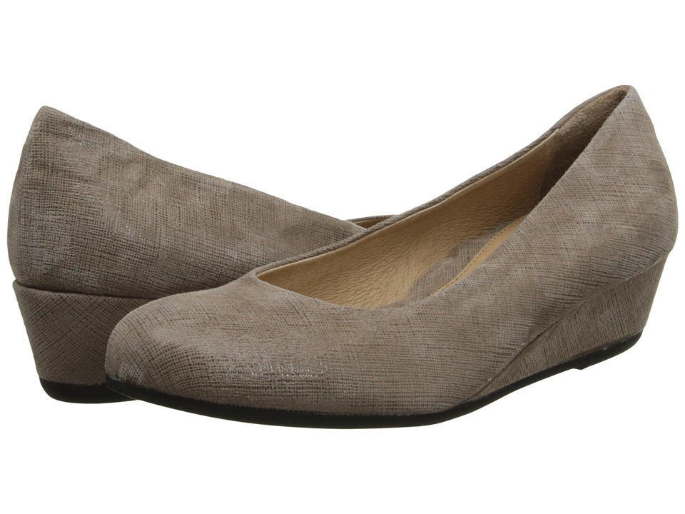 French Sole - Gumdrop (Taupe Cartizze) Women's Wedge Shoes