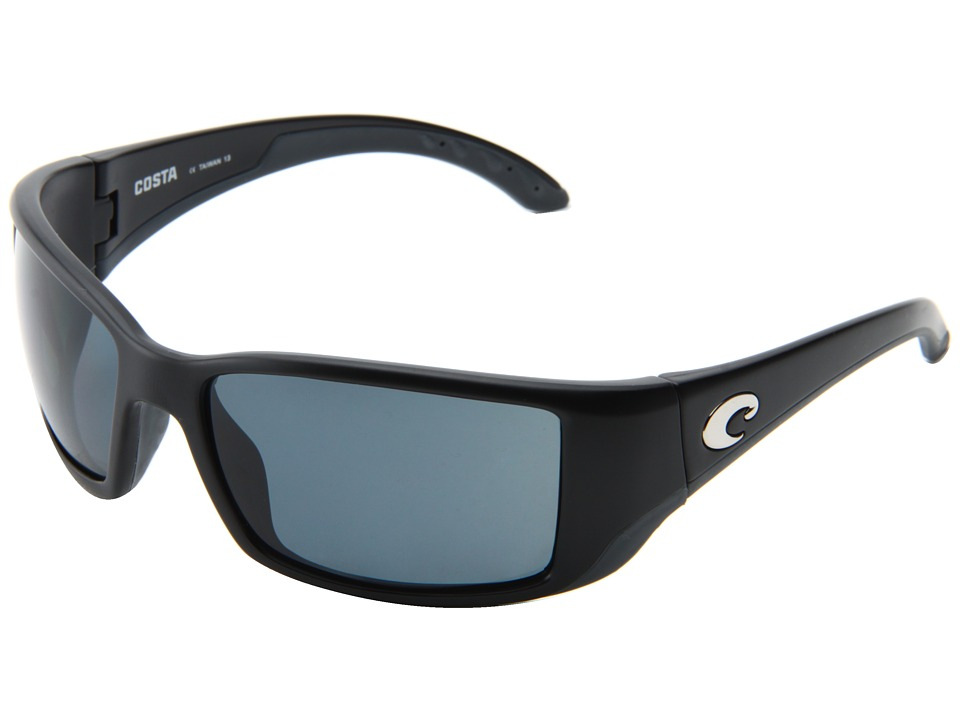 Costa - Blackfin 580 Plastic (Black/Gray 580 Plastic Lens) Sport Sunglasses