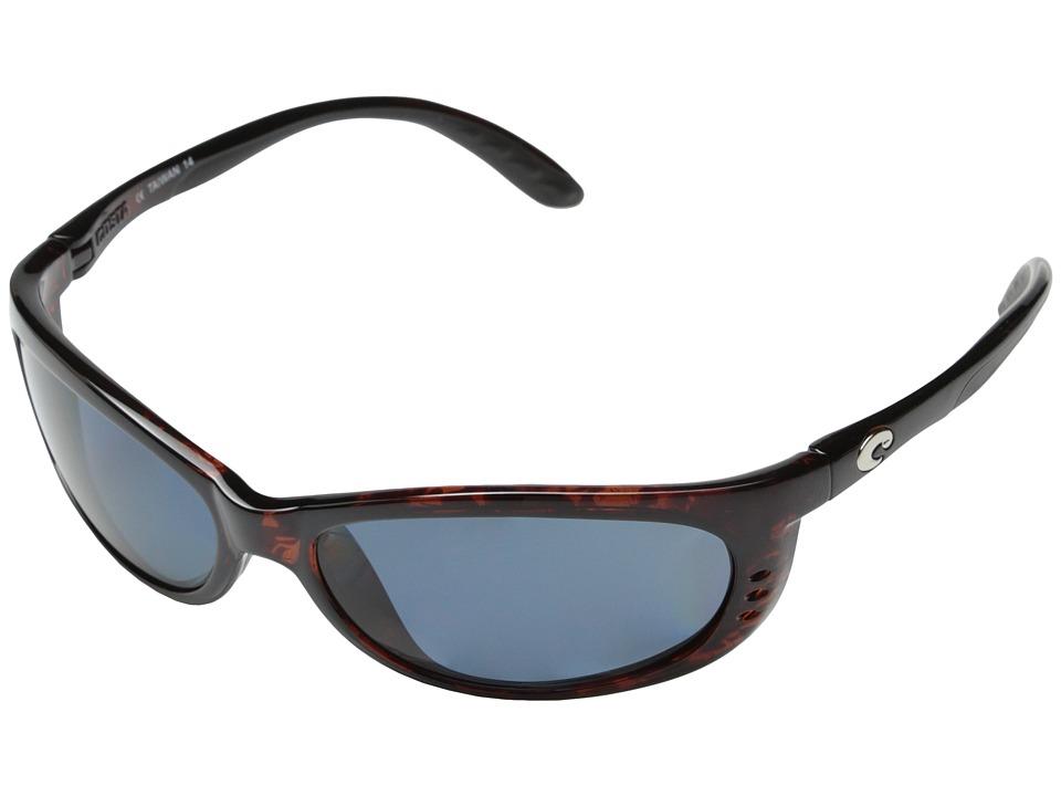 Costa - Fathom 580 Plastic (Tortoise/Copper 580 Plastic Lens) Sport Sunglasses