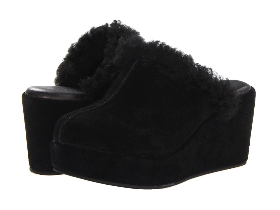 Cordani - Darma (Black Suede/Canvas 1) Women's Clog Shoes