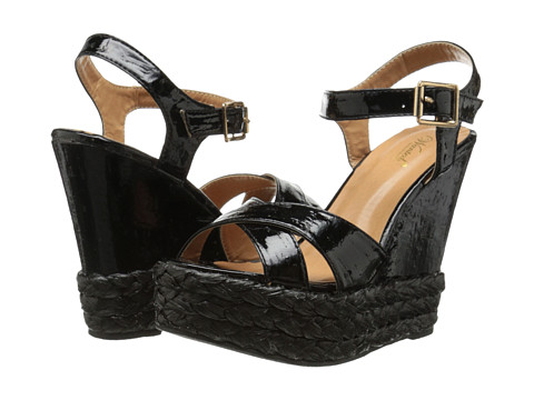 Wanted - Brandy (Black) Women's Wedge Shoes
