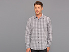 DKNY Jeans Slim Fit L/S Off Check 1-Pocket Shirt