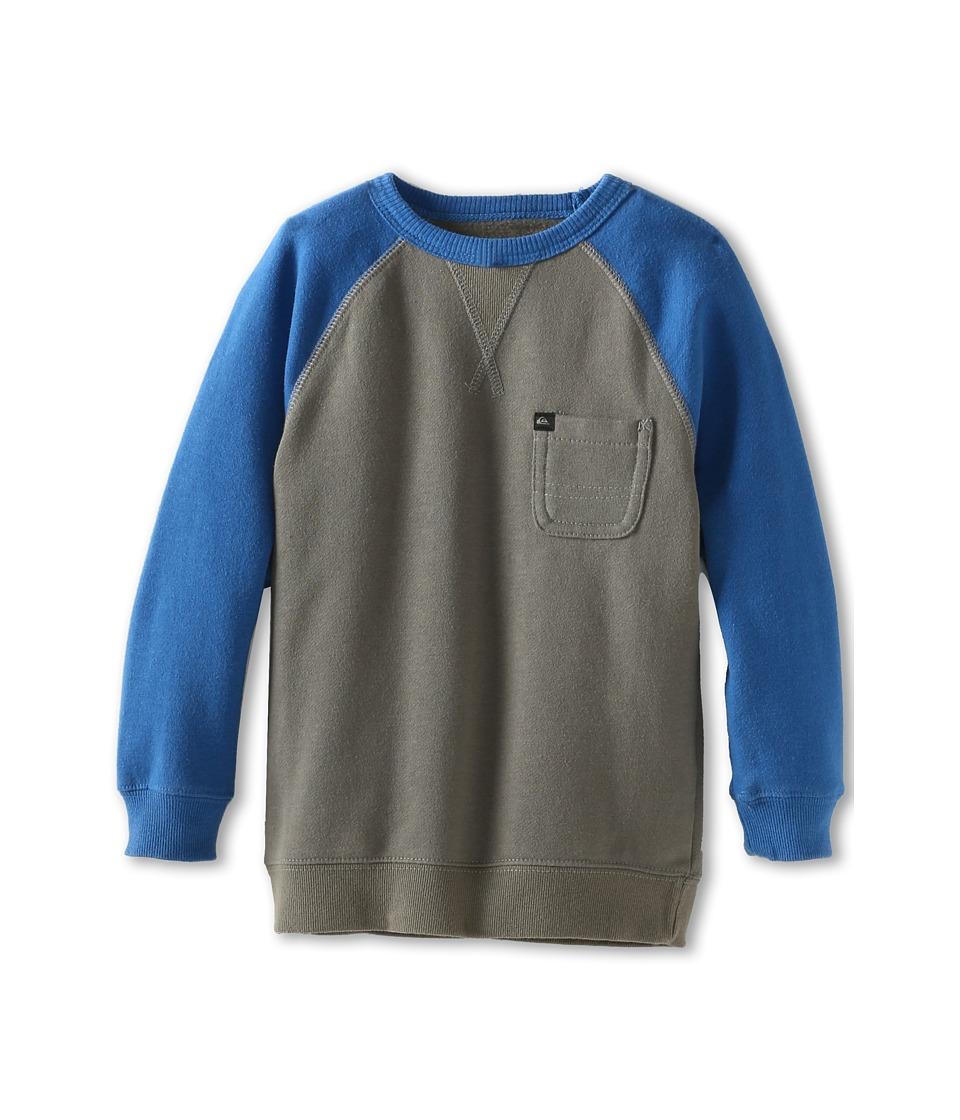 Quiksilver Kids Xabi Boys Long Sleeve Pullover (Gray)
