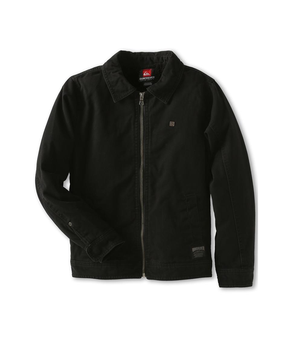 Quiksilver Kids Billy Jacket Boys Coat (Black)