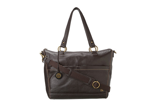 The Sak - Iris Satchel (Chocolate Pebble) Satchel Handbags