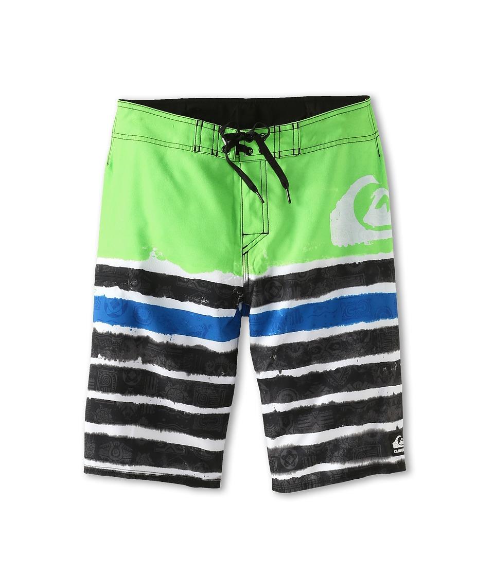 Quiksilver Kids Cypher Roam Boys Swimwear (Green)