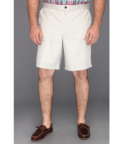 Dockers Big & Tall - Big Tall Core Flat Front Short (Porcelain Khaki) Men