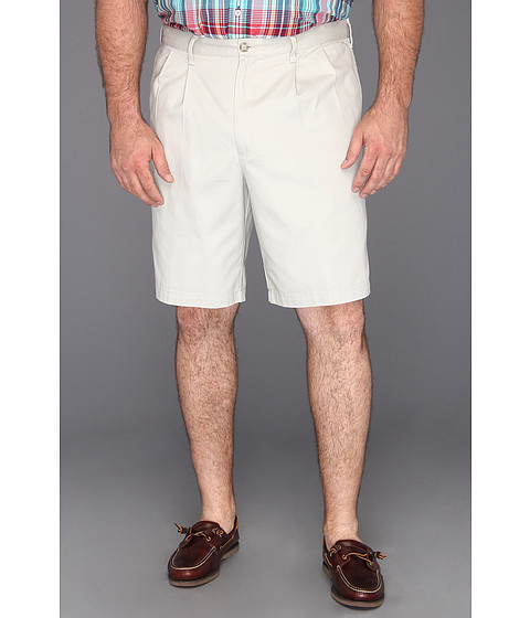 Dockers Big & Tall - Big Tall D3 Classic Fit Double Pleat Short (Porcelain Khaki) Men's Shorts