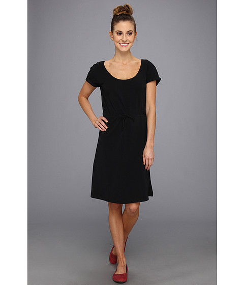Columbia - Reel Beauty II S/S Dress (Black) Women's Dress