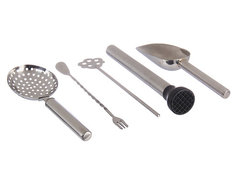 Gorham - That's Entertainment 5 Piece Cocktail Prep Set (Stainless) Dinnerware Cookware