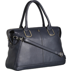 SALE! $196.99 - Save $131 on Armani Jeans Zip Satchel (Navy) Bags and Luggage - 39.94% OFF $328.00