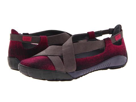 Dimmi Footwear - Adventure (Cranberry/Dark Grey) Women