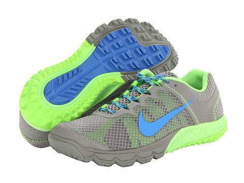 Nike Zoom Wildhorse (Mine Grey/Flash Lime/Distance Blue) Women's Running Shoes