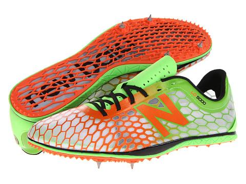 New Balance - MLD5000 (Green/Orange) Men's Running Shoes