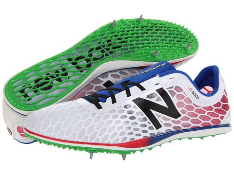 New Balance - MLD5000 (White/Blue) Men's Running Shoes