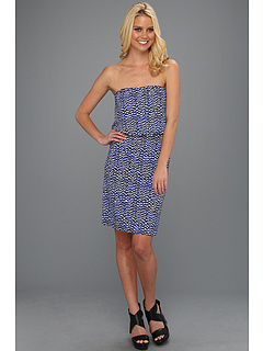 SALE! $61.99 - Save $143 on Susana Monaco Emma Dress (Topaz) Apparel - 69.76% OFF $205.00