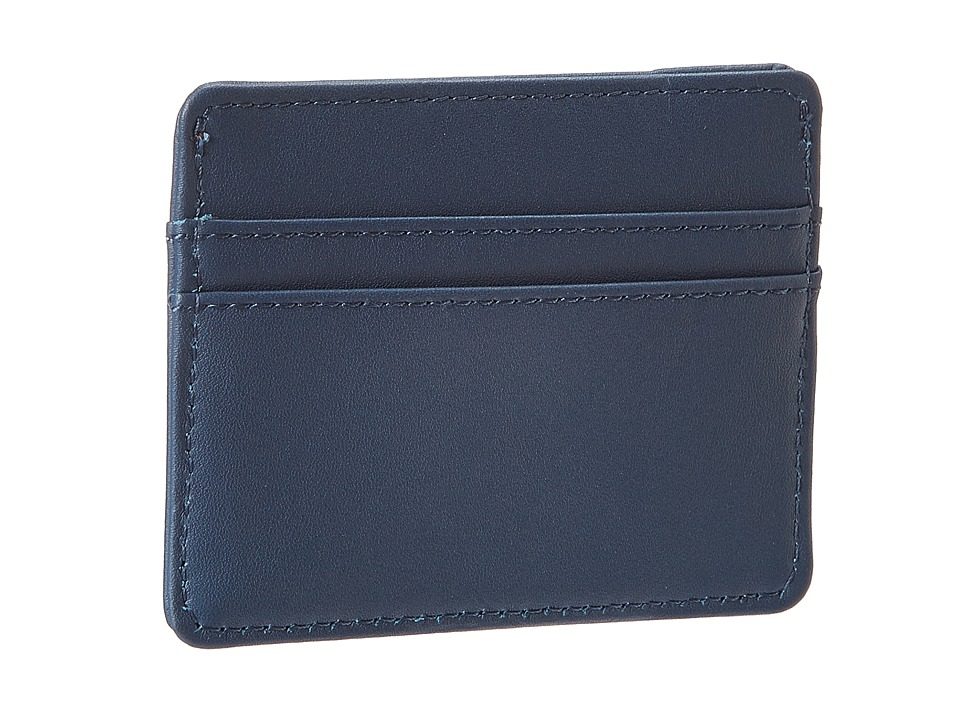 Herschel Supply Co. - Charlie Leather (Navy) Wallet Handbags