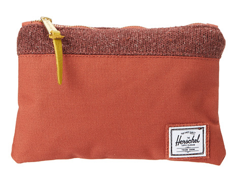 Herschel Supply Co. - Field Pouch (Rust Quilt) Travel Pouch