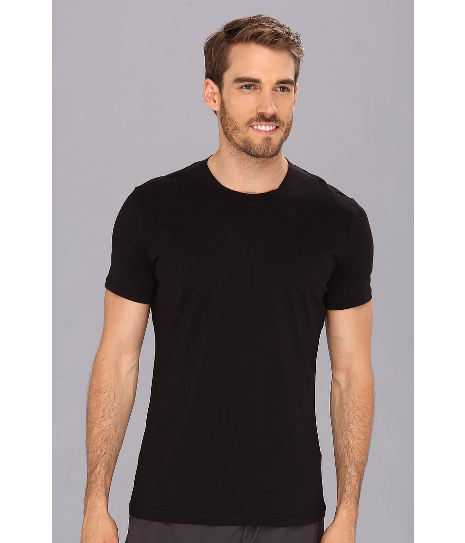 Spanx for Men - Flex-Touch Crew (Black) Men's T Shirt