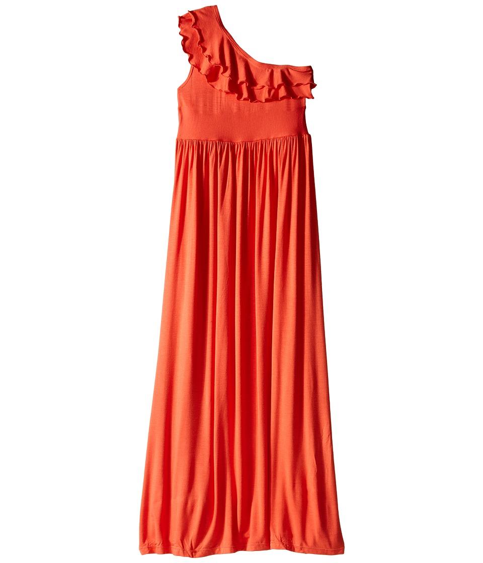 fiveloaves twofish - Bedouin Maxi Dress (Little Kids/Big Kids) (Orange) Girl's Dress
