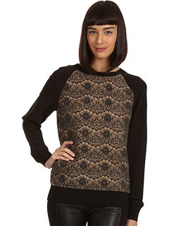 SALE! $104.99 - Save $243 on Rachel Roy Mix Pullover (Iron Gate) Apparel - 69.83% OFF $348.00