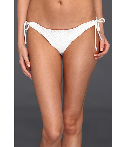 Volcom - Catch Release Flutter Skimpy Bottom (Cream) Women