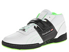 Reebok - Workout Mid Strap Speckled (White/Black/Neon Green/Flat Grey)