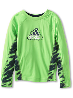 SALE! $11.99 - Save $16 on adidas Kids Clima Impact Tech Top (Toddler Little Kids) (Green Flash) Apparel - 57.18% OFF $28.00