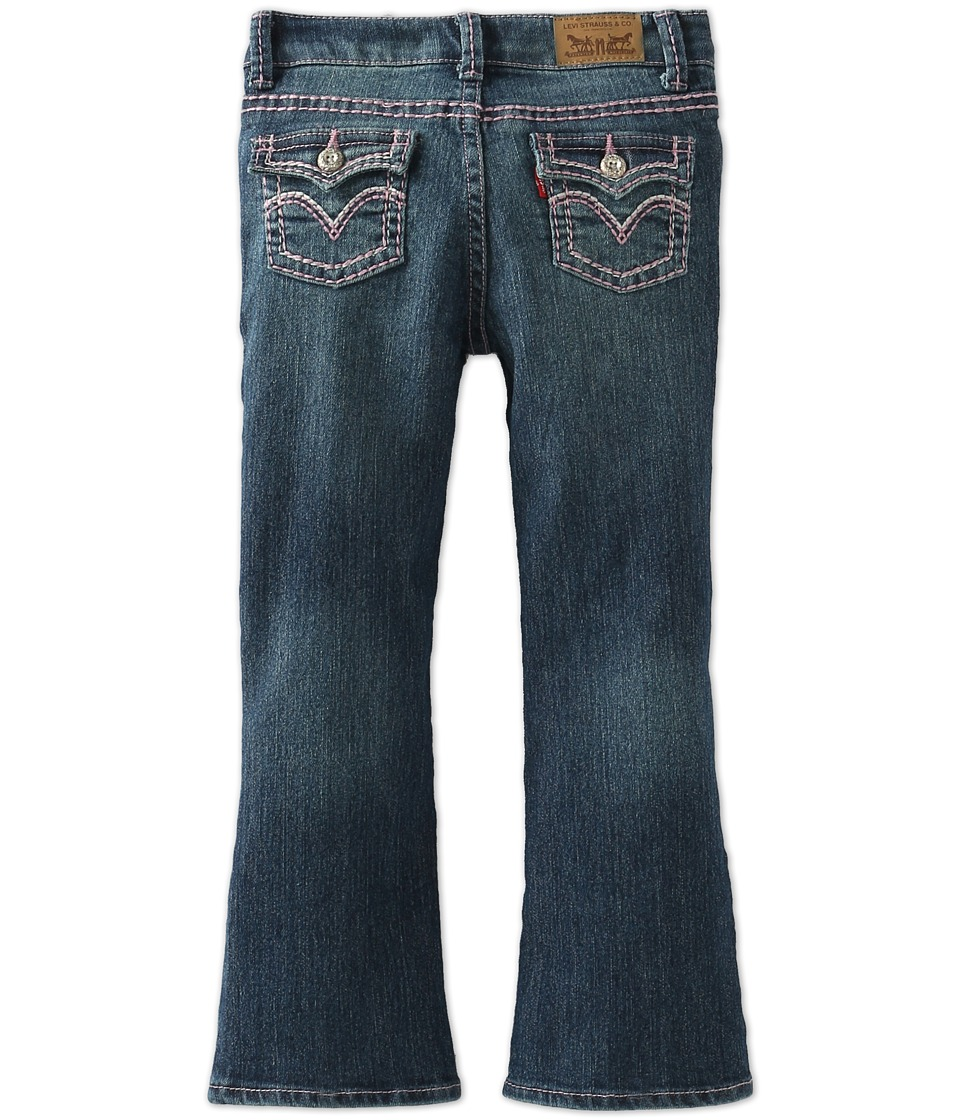 Levi's(r) Kids - Taylor Bootcut Jean (Little Kids) (Blue Wonder) Girl's Jeans