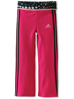 SALE! $11.99 - Save $12 on adidas Kids Workout Pant w Fold (Toddler Little Kids) (Blast Pink) Apparel - 50.04% OFF $24.00