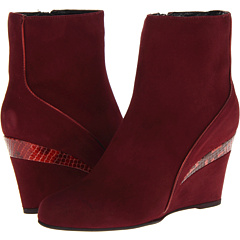 Aquatalia by Marvin K. Yale (Wine Suede) Footwear