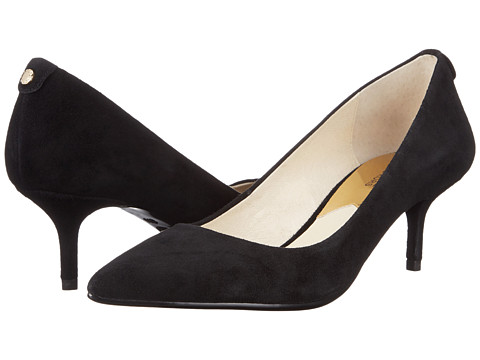 MICHAEL Michael Kors - MK-Flex Kitten Pump (Black) High Heels