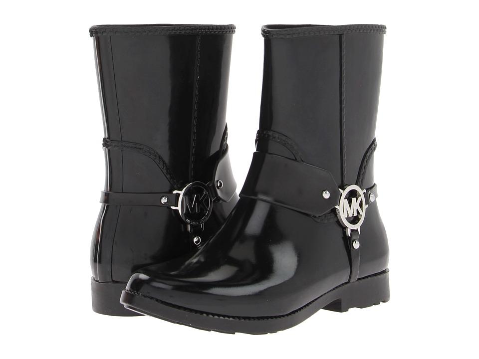 MICHAEL Michael Kors - Fulton Harness Rainbootie (Black) Women's Rain Boots