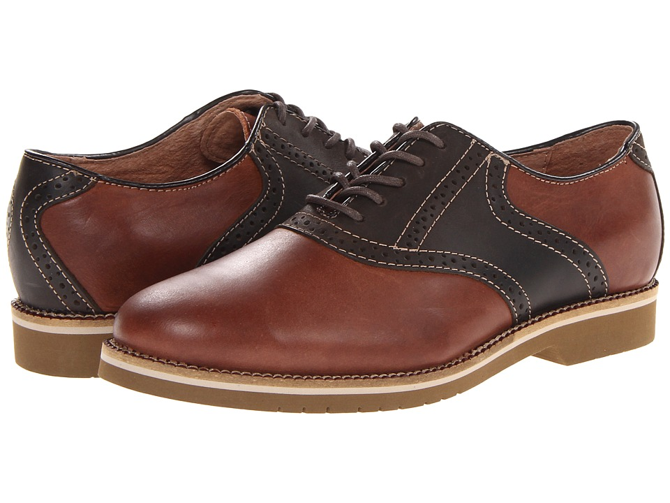 Bass - Burlington (New Tan/Chocolate) Men's Lace up casual Shoes
